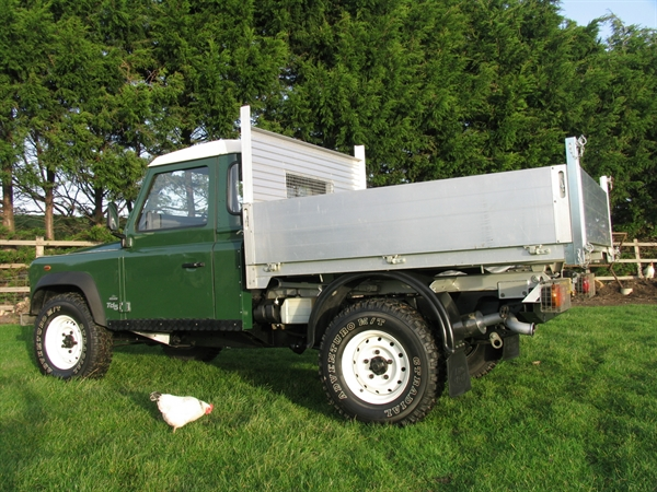 The Lanny Doctor Defender 110 Td5 Tipper Sold
