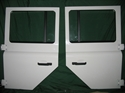 Picture of Defender 110 130 Second Row Doors New Take Off